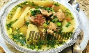 Embedded thumbnail for Как приготовить суп с мясом