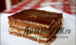 Embedded thumbnail for Как приготовить торт без выпечки