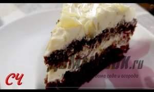 Embedded thumbnail for Шоколадный торт со сметанным кремом