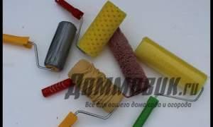 Embedded thumbnail for Структурный валик для декоративной штукатурки