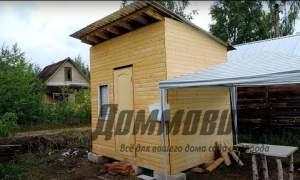 Embedded thumbnail for Как построить бытовку