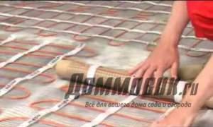 Embedded thumbnail for Электрический теплый пол под плитку