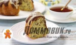 Embedded thumbnail for Кекс с шоколадной глазурью