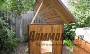 Embedded thumbnail for Теплая будка для собаки