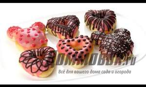 Embedded thumbnail for Пончики в духовке рецепт