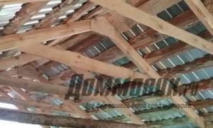 Embedded thumbnail for Как сделать двускатную крышу