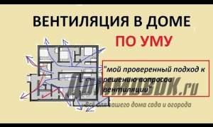 Embedded thumbnail for Как правильно сделать вентиляцию в доме