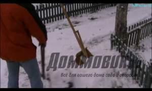 Embedded thumbnail for Лопата для чистки снега