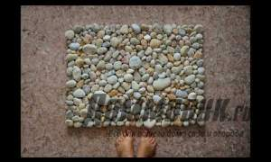 Embedded thumbnail for Коврик из камней