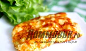 Embedded thumbnail for Омлет с сыром и молоком