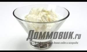 Embedded thumbnail for Как приготовить крем чиз