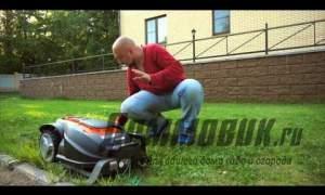 Embedded thumbnail for Робот газонокосилка сравнительный тест