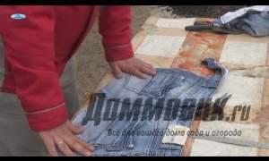 Embedded thumbnail for Фартук из джинсов своими руками