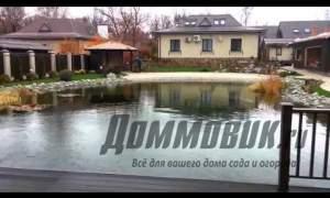 Embedded thumbnail for Искусственный водоем в своем дворе
