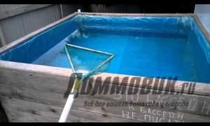 Embedded thumbnail for Как сделать простой бассейн на даче