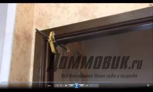 Embedded thumbnail for Установка наличников на двери