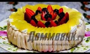 Embedded thumbnail for Классический рецепт торта Павлова