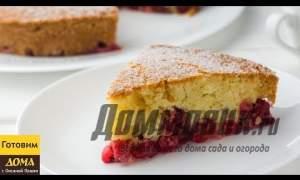 Embedded thumbnail for Пирог с вишней: простой рецепт