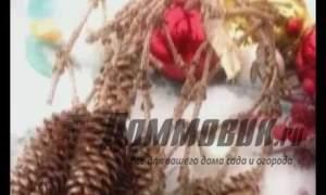 Embedded thumbnail for Как украсить дачу на Новый год