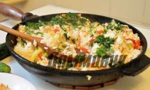 Embedded thumbnail for Как приготовить рис с овощами