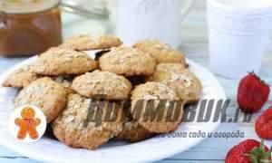 Embedded thumbnail for Овсяное печенье с медом