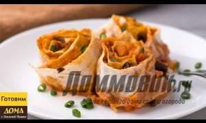 Embedded thumbnail for Лаваш с овощами