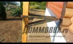 Embedded thumbnail for Строительные леса своими руками