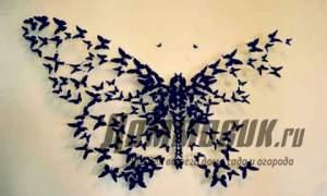 Embedded thumbnail for Декорация стен бабочками