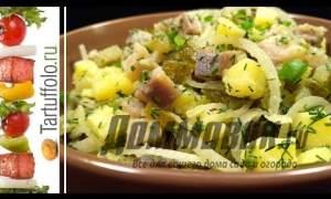 Embedded thumbnail for Вкусный салат с селедкой
