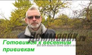 Embedded thumbnail for Как прививать деревья осенью