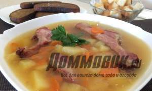 Embedded thumbnail for Как сварить гороховый суп с копченостями