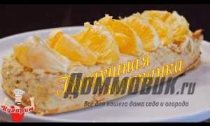 Embedded thumbnail for Творожно банановая запеканка в духовке