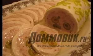 Embedded thumbnail for Рецепт галантина из курицы
