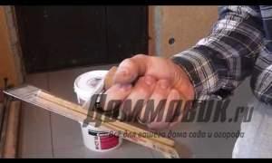 Embedded thumbnail for Как наносить декоративную штукатурку